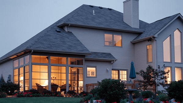 A home with storm tight windows, safe regardless of the weather.