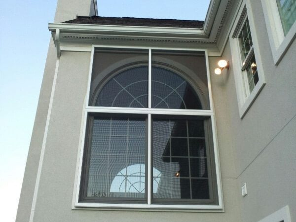 Protective screens, perfect for windows for homes on a golf course